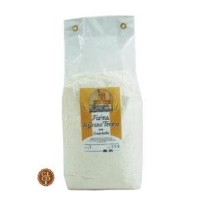 farina di grano tenero con cruschello 1kg.