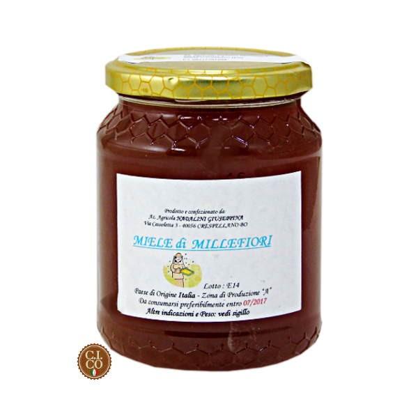 miele di millefiori morbido